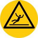 Bodenmarkierung, Symbol Vorsicht Rutschgefahr