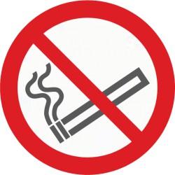 Bodenmarkierung, Symbol Rauchen verboten