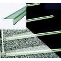 Antirutsch-Stufenprofil Safety-Stair, langnachleuchtend und tageslichtfluoreszierend