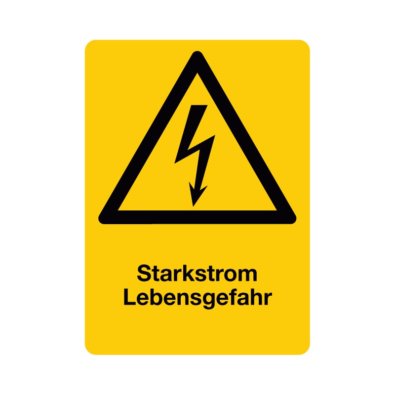 Warnzeichen - Schnürle Shop