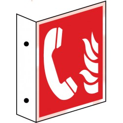 Fahnenschild Brandmeldetelefon (F006)