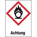 Entzündend (Oxidierend) wirkende Stoffe (GHS 03)