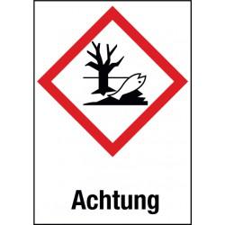 Achtung, Gewässergefährdend (GHS 09)