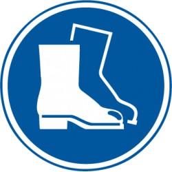 Eitkett Fußschutz benutzen (M008)