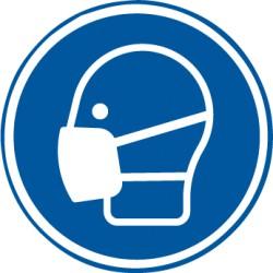 Etikett Maske benutzen (M016)