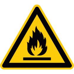 Etikett Warnung vor feuergefährlichen Stoffen (W021)