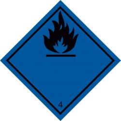 Stoffe, die in Berührung mit Wasser brennbare Gase entwickeln (4.3)