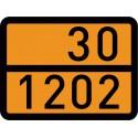 Gefahrguttafel 30 - 1202