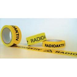 Warnband Radioaktiv, Rollenware