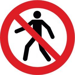 Für Fußgänger verboten (P004)