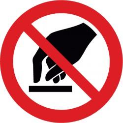 Berühren verboten (P010)