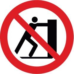 Schieben verboten (P017)