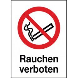 Kombischild Rauchen verboten (P002)