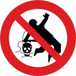 Kleiderreinigung mit Pressluft verboten