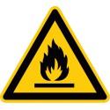 Warnung vor feuergefährlichen Stoffen (W021)