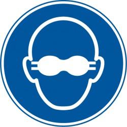 Weitgehend lichtundurchlässigen Augenschutz benutzen (M007)