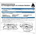 Gebrauchsansweisung für Flüssiggasanlagen mit ortsfesten Behältern