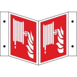 Winkelschild Löschschlauch (F002)