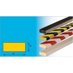 Profil D - Prallschutzprofil 50 x 20 mm