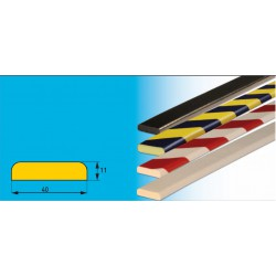 Profil E - leichtes Prallschutzprofil 40 x 11 mm