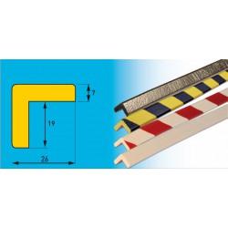 Profil H - selbstklebendes Winkelprofil für rechtwinklinge Kanten