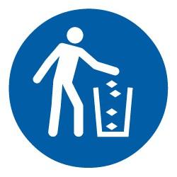 Abfallbehälter benutzen (M030)