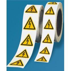 Rollenware Warnung vor elektrischer Spannung (W012)