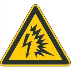 Warnung vor Lichtbogen (W042)