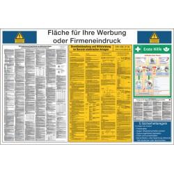 Kennzeichnungs-Schild für elektrische Anlagen
