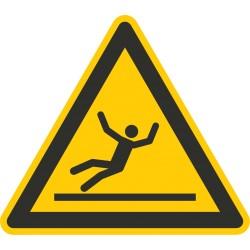 Sicherheitszeichen für den Boden - Warnung vor Rutschgefahr