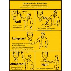 Handzeichen im Kranbetrieb