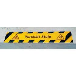 Antirutsch-Bodenmarkierung - Vorsicht Stufe