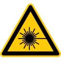 Warnung vor Laserstrahl (W004)