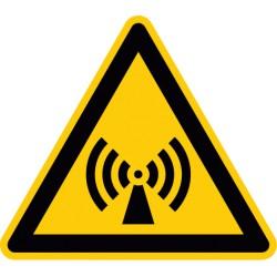 Warnung vor nicht ionisierender Strahlung (W005)
