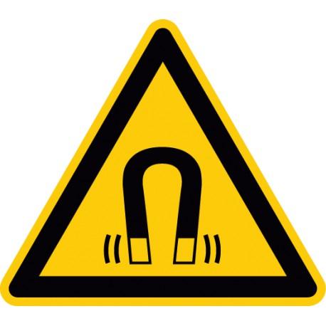 Warnung vor magnetischem Feld (W006)