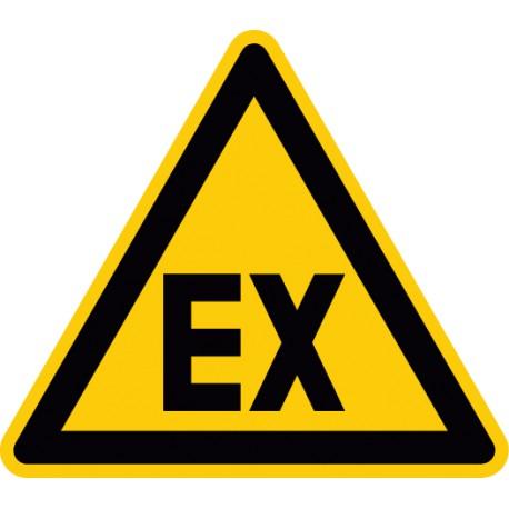 Warnung vor explosionsfähiger Atmosphäre (D-W021)