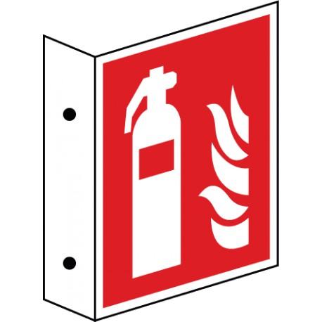 Fahnenschild Feuerlöscher (F001)