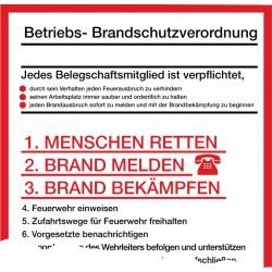 Betriebs- Brandschutzverordnung