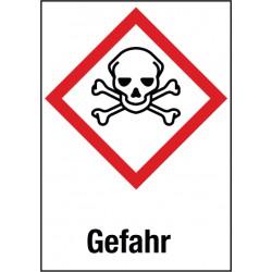 Gefahr, Akute Toxizität (GHS 06)