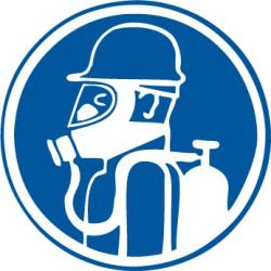 Etikett Atemgerät benutzen