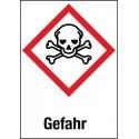 Etikett Gefahr, Akute Toxizität (GHS 06)
