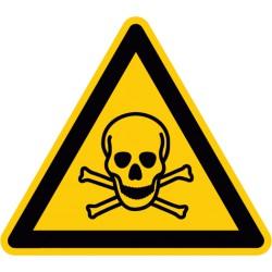 Etikett Warnung vor giftigen Stoffen (W016)