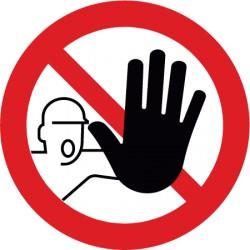 Zutritt für Unbefugte verboten (D-P006)