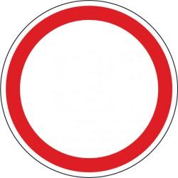 Verbot für Fahrzeuge aller Art - für innerbetriebliche Verkehrswege