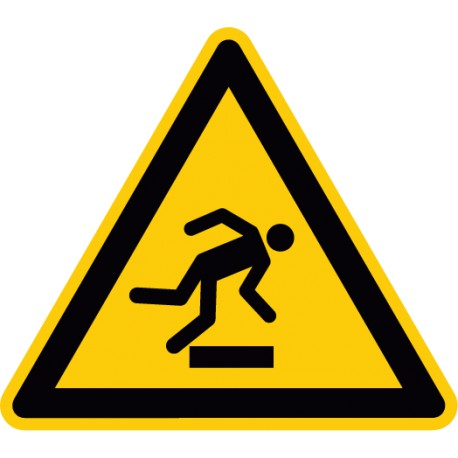 Warnung vor Hindernissen am Boden (W007)