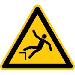 Warnung vor Absturzgefahr (W008)