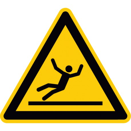 Warnung vor Rutschgefahr (W011)