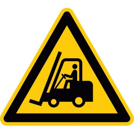 Warnung vor Flurförderzeugen (W014)