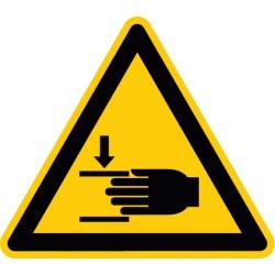 Warnung vor Handverletzungen (W024)