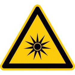 Warnung vor optischer Strahlung (W027)